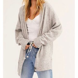 Free People Eucalyptus Cardigan Button Front Flaw